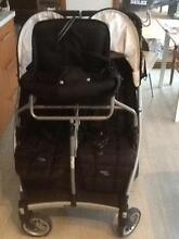 Double pram with joey seat, Valco baby. Ballarat Central Ballarat City Preview