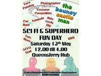 Sci-fi and Superheroes fun day at the South Queensferry Community Hub