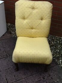 Beautiful chair for sale