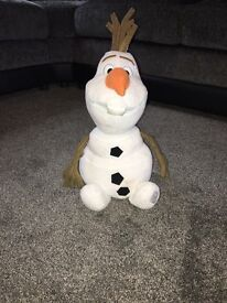 Genuine Disney Olaf from frozen
