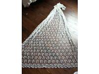 Stunning vintage lace veil