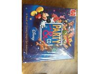 A DISNEY PARTY & CO FAMILY BOARD GAME WITH A MICKEY MOUSE TIMER TALKS&HELPS YOU PLAY, DRAW,GUESS ETC