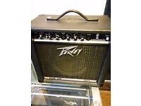 peavey rage 158 used very good condition guitar amplifier