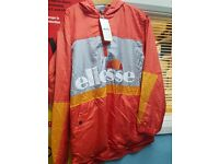 Ellesse Coral Overhead Jacket BNWT Womens 10 Or Small Male