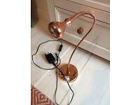 Brand new Ikea copper desk lamp