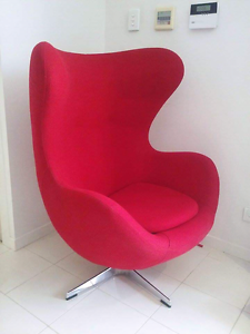 Arne Jacobson Egg Chair Hallett Cove Marion Area Preview