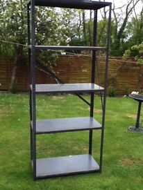 Heavy Duty Dexion Racking With 5 Shelves
