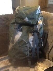 Vaude triset 25+4 rucksack.hardly used