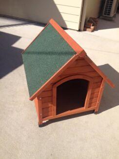 Qiq Fix Medium Wooden Dog Kennel Kaleen Belconnen Area Preview