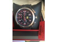 Unwanted gift, Brand new Ferrari watch with tags and 2 year guarantee