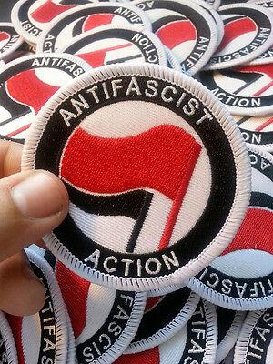 Antifa Embroidered Patch (SHARP RASH Skinhead Oi!)
