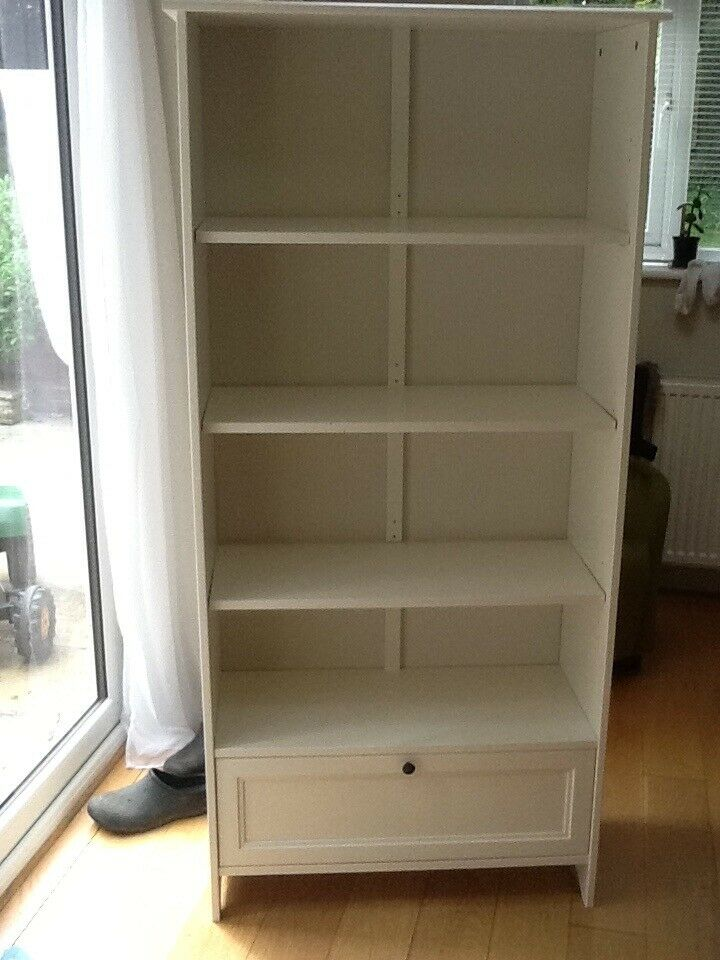 premium selection 7e41c 60b50 IKEA white bookcase with drawer | in Fakenham, Norfolk | Gumtree