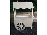 wedding candy cart / sweet cart...free post box!