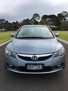 2009 Honda Civic Sport sedan blue colour MY09 ONLY 63.000km Melbourne CBD Melbourne City Preview
