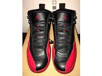 Nike Air Jordan 12 Flu Game mens basketball shoes size 11 XII BRED BANNED