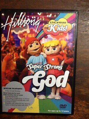 Super Strong God Live Worship for Kids by Hillsong Kids (DVD)