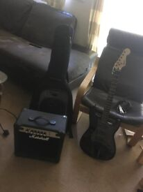 Bullet Stratocaster Guitar + Kit - Perfect for Beginners
