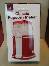 Popcorn maker, unused