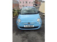 2014 baby blue 1.2l Fiat 500