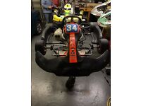 Complete go-kart kit. Ready to race