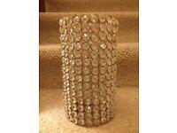 Large Crystal Votive Holder 25 cm - New and Unused - £15.00