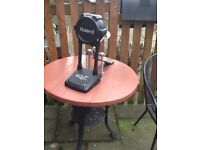 Roland V Drum electronic bass drum and pedal.