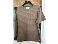 FRENCH CONNECTION T SHIRT STRIPED XXL