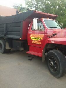 Ford f800 camion a benne!