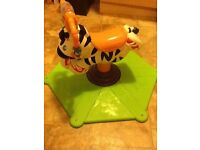 Fisher Price Bounce & Spin Zebra