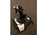 Flight simulator joystick