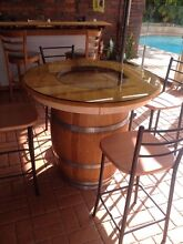 Wine barrel bar/table Noranda Bayswater Area Preview