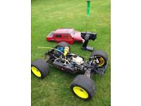RC Nitro Car Buggy XTM Mammoth ST