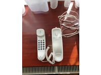 Old style phone, does not need to be plugged in to power
