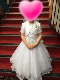 2 communion dresses