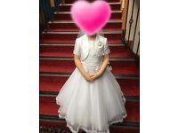 2 communion dresses