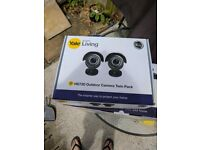Yale HD720 Outdoor CCTV Bullet Camera Twin PACK