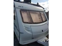 Ace sunstar supreme twin axel caravan year 2005/2006