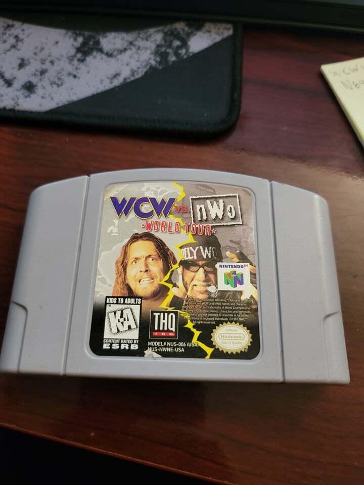 Wcw Vs Nwo World Tour N64 Tested Working - $19.99