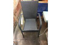 1x garden chair