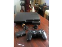 Playstation3 with game and accessories.