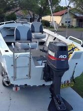 Seajay escape 4.45 yamaha 40 hp suit new buyer Bankstown Bankstown Area Preview