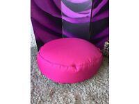New Pink Round Bean Bag