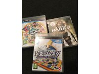 Playstation three with games and accessories bundle