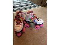 Gilrs Roller Skates Size 1