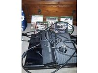 X box one 500gb plus remote and 5games
