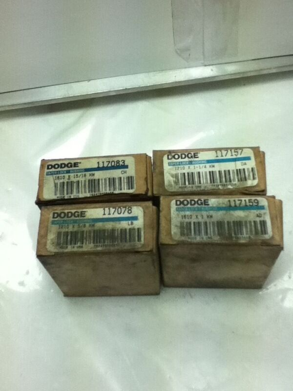 LOT OF 4 DODGE BUSHINGS