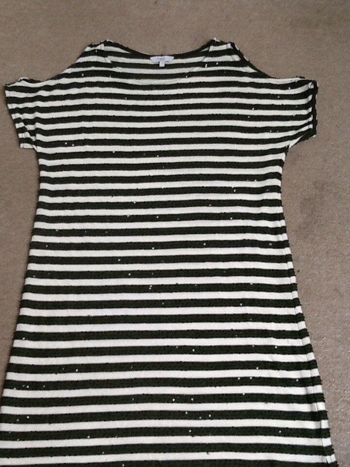 Next sparkly cold shoulder size 14 dress