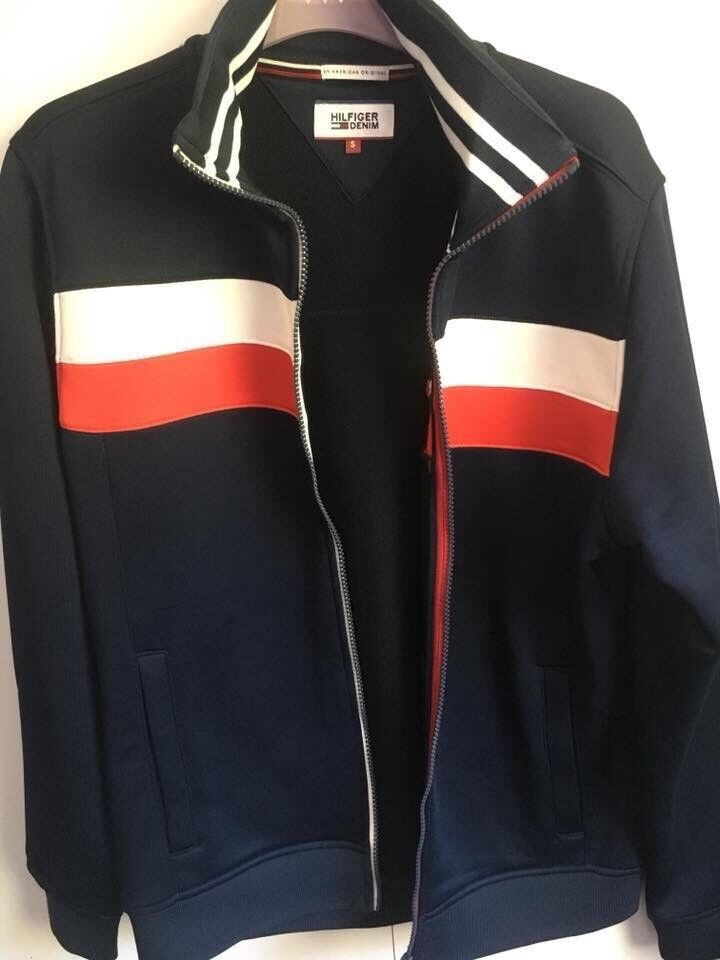 Genuine Tommy Hilfiger track top