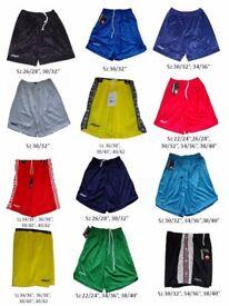 Job Lot 300 Pieces Assorted Uhlsport Sportswear Football Shorts Brand New