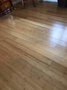 $3.89 Bamboo Hardwood Click Engineered Material and INSTALLATION!! WOW AMAZING DEAL